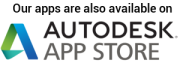 Our apps are also available on Autodesk App Store